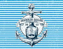 T-shirt Drunken Sailors