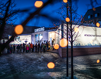 Brand Experience | Samsung Pavilion Lillehammer