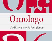 Omologo Serif Semi Stencil