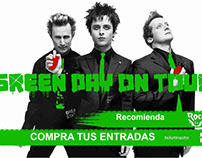 Cartel de green day