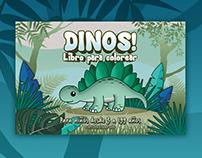 Dinosaurios, ilustraciones