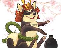 Paws: Playful Shiba Inu