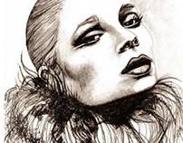 Mischa Barton as Greta Garbo / Lust