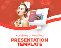 Free Academy Modelling Presentation Template