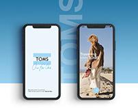 TOMS UI/UX Design
