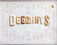 DEEGHUYS - ecommerce Website