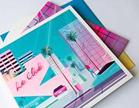 Le Galaxie 'Le Club' LP & CD sleeve