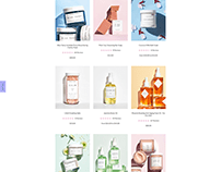 One product shopify website