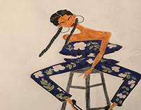Chic Pose Series : Yara Shahidi