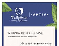 Coffee Roastery Leaflet