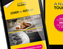 Mobile App | Anaya Touring #app #anaya #design #ios