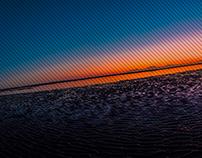 Nudgee Beach Sunrise - Panorama