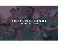 International Choral Festival Brand Identity
