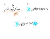 Logo comps for a Gypsie Girl