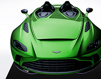 2020 Aston Martin V12 Speedster Summer Green