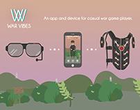 War Vibes - UI/UX Design