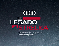 El legado de Strelka / Website development