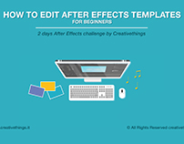 How to Edit After Effects Templates