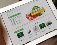 Agro Villa - Website Design