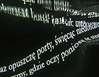 """""""Rejs"""" by T. Dalasiński poezja wizualna/visual poetry"""