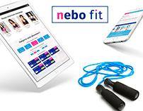 Nebo Fit, Landing page
