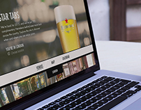 Heineken Star Tabs Website