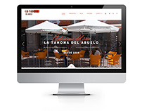 La Tahona del Abuelo web.