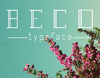 Typeface | Beco