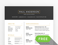 Free Resume & Cover Letter Template + Business Cards