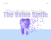 Landing Page for The Value Smile