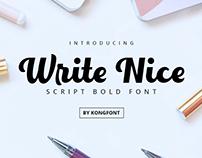 Write Nice