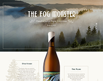 The Fog Monster website
