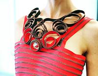 TARON Zipper dress