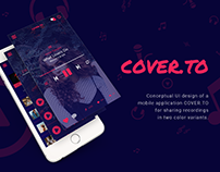 COVER.TO UI App Design