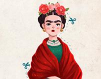 Frida Kahlo Paper Doll