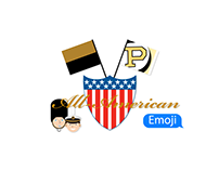 """All-American"" Emoji"