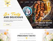 Taste Of Baroda Web Design