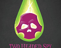 Two Headed Spy / selected concert flyers