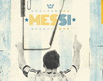 Illustration For Leo Messi Foundation