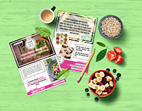 Flyer project - Love Healthy Food