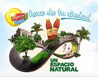 Lipton hace de tu ciudad un espacio natural