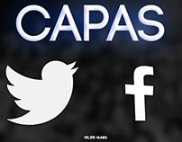 Capas - Facebook & Twitter