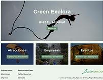 Green Explora (Concept: Web Desktop)