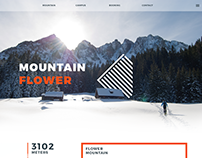 Mountain Campus. Web Design