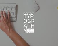 Everyday Typography Challenge