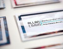 Allan K. Crain Business Cards