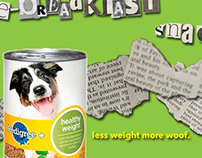 Pedigree Healthy Weight Print Ad