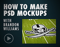 How to Make Mockups Process Video - FREE PSD