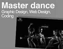 Graphic, Webdeisgn & Webdevelopment // Master Dance