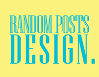 Random posts design